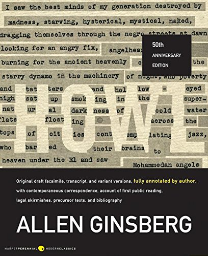 Howl: Original Draft Facsimile, Transcript, and Variant: GINSBERG, Allen