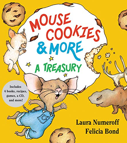 9780061137631: Mouse Cookies & More: A Treasury [With CD (Audio)-- 8 Songs and Celebrity Readings] (If You Give...)
