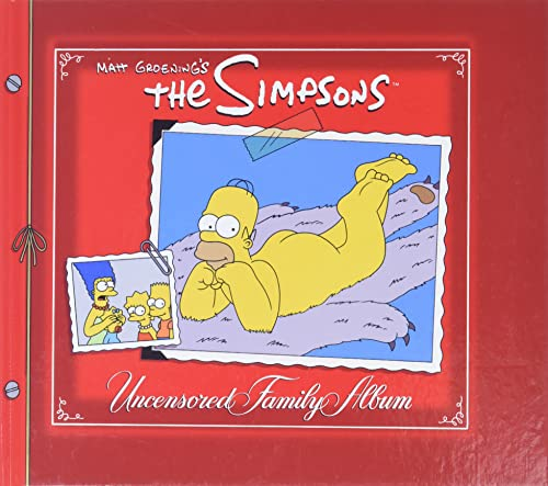9780061138300: The Simpsons Uncensored Family Album