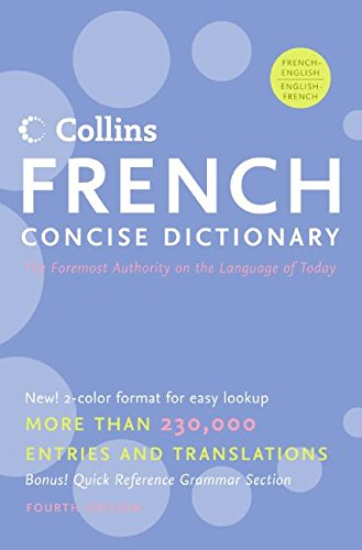 9780061141829: Collins French Concise Dictionary, 4e (HarperCollins Concise Dictionaries)