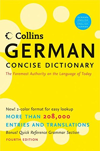 9780061141836: Collins German Concise Dictionary