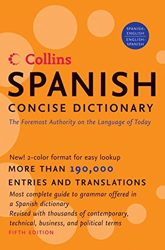 9780061141843: Collins Spanish Concise Dictionary, 5e (HarperCollins Concise Dictionaries) (Spanish Edition)