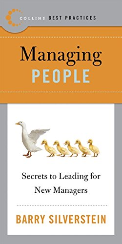 9780061145568: Managing People : Secrets to Leading for New Managers ( Collins Best Practices)