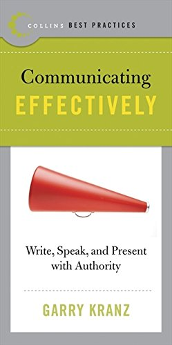 9780061145681: Best Practices: Communicating Effectively: Write, Speak, and Present with Authority