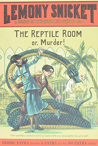 9780061146312: The Reptile Room: Or, Murder! (A Series of Unfortunate Events, Book 2)
