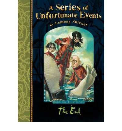 9780064410168 the end a series of unfortunate events for Bureau 13 book series