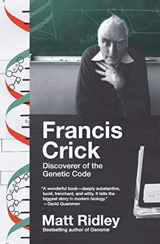 9780061148453: Francis Crick: Discoverer of the Genetic Code (Eminent Lives)