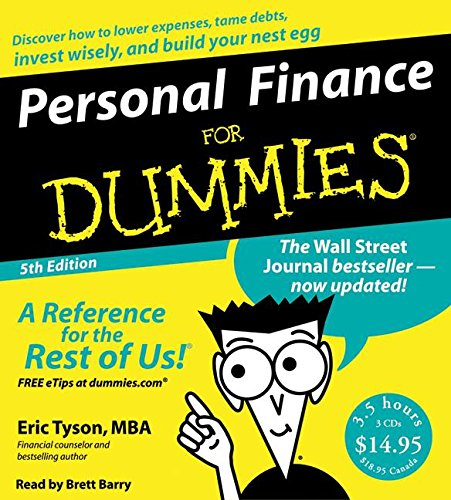 9780061153259: Personal Finance for Dummies (For Dummies (Lifestyles Audio))