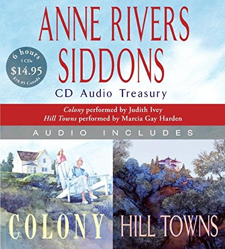 9780061153822: Anne Rivers Siddons CD Audio Treasury (Colony / Hill Towns)