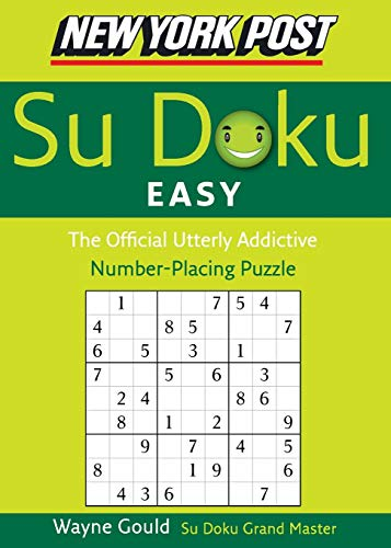 9780061173387: New York Post Easy Sudoku: The Official Utterly Addictive Number-Placing Puzzle (New York Post Su Doku)