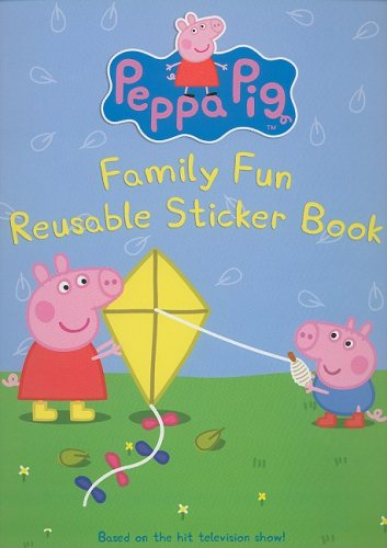 9780061173738: Peppa Pig: Family Fun Reusable Sticker Book