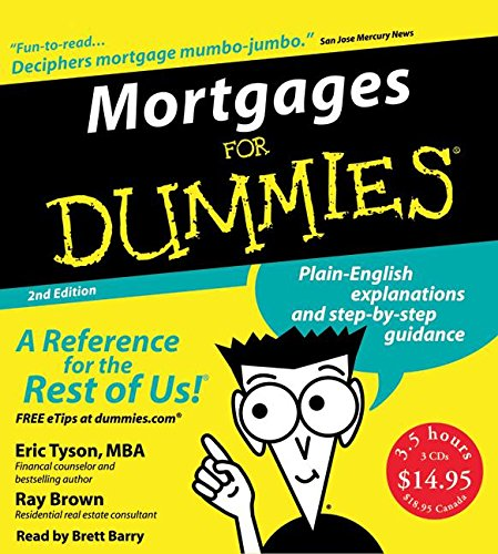 9780061175930: Mortgages for Dummies