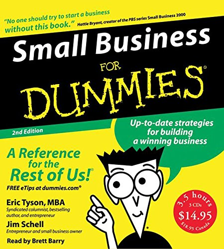9780061175947: Small Business for Dummies 2nd Ed. CD
