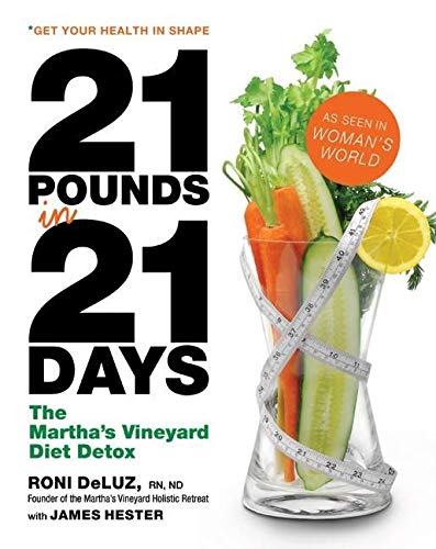 9780061176173: 21 Pounds in 21 Days: The Martha's Vineyard Diet Detox