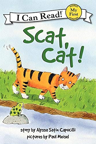 9780061177545: Scat, Cat! (My First I Can Read - Level Pre1 (Hardback))