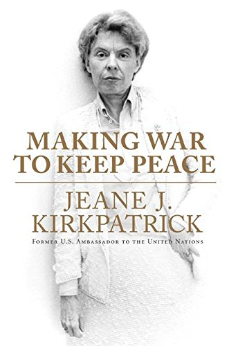 9780061195433: Making War to Keep Peace
