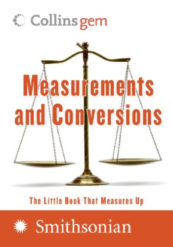 9780061205774: Measurements and Conversions (Collins Gem)