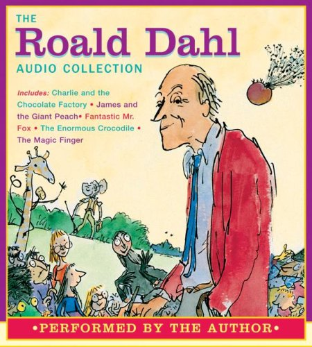 9780061214967: The Roald Dahl Audio Collection: Charlie and the Chocolate Factory/James and the Giant Peach/Fantastic Mr. Fox/The Enormous Crocodile/The Magic Finger