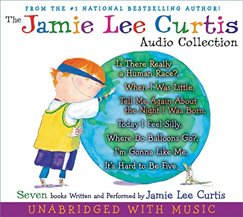9780061215285: The Jamie Lee Curtis Audio Collection: Is There Really a Human Race?, When I Was Little, Tell Me about the Night I Was Born, Today I Feel Silly, Where