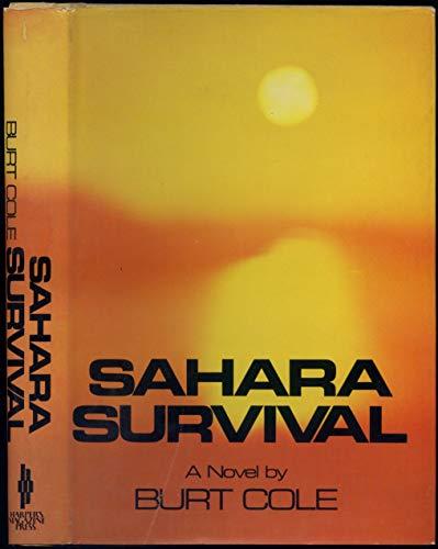 9780061215506: Sahara survival;: A novel