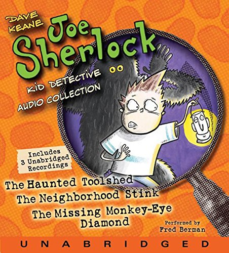 9780061227608: Joe Sherlock, Kid Detective CD Audio Collection: Case 000001:The Haunted Toolshed,Case 000002:The Neighborhood Stink,Case 000003:The Missing Monkey-Eye Diamond