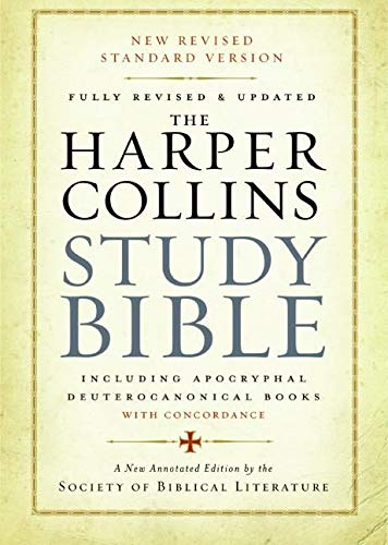 9780061228407: The HarperCollins Study Bible: Fully Revised and Updated