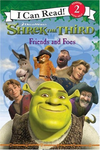 9780061228650: Shrek the Third: Friends and Foes (I Can Read Book 2)