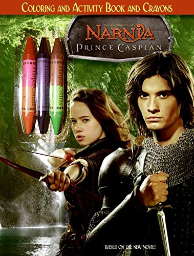 9780061231070: The Chronicles of Narnia: Prince Caspian Coloring and Activity Book and Crayons