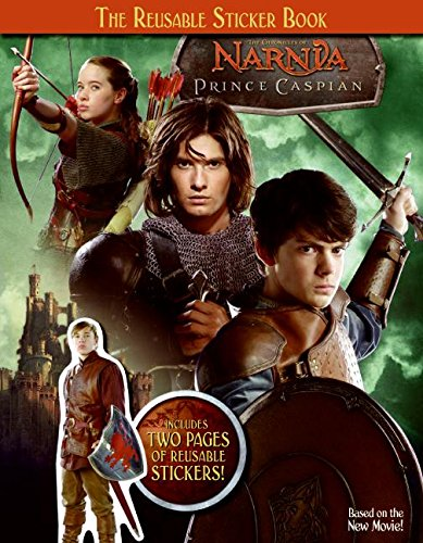 9780061231117: The Chronicles of Narnia: Prince Caspian: The Reusable Sticker Book