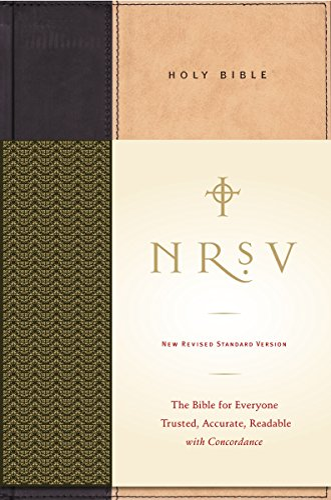 9780061231186: NRSV Standard Bible (tan/black)