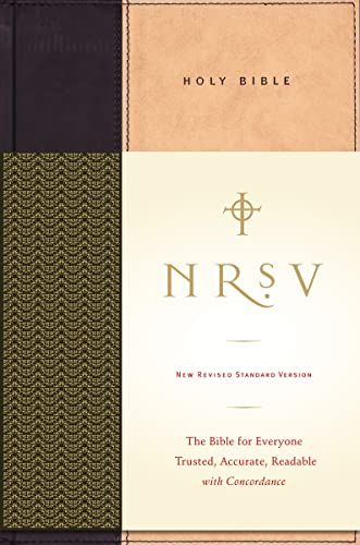9780061231186: NRSV Standard Bible (tan/black)