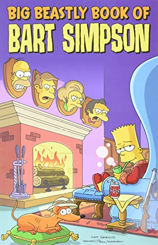 9780061231285: Big Beastly Book of Bart Simpson (Simpsons Comic Compilations)