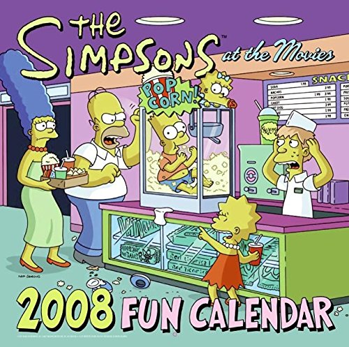 9780061231322: The Simpsons 2008 Fun Calendar
