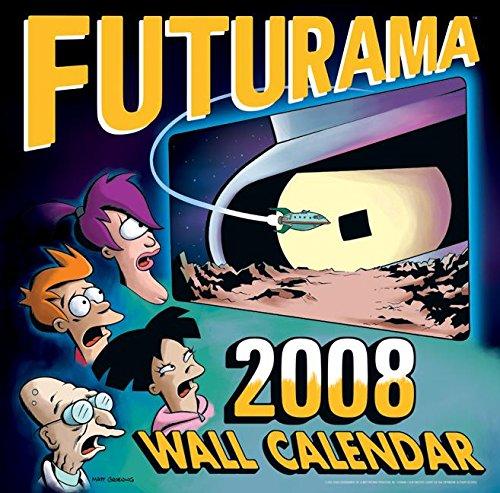 9780061231339: Futurama 2008 Wall Calendar