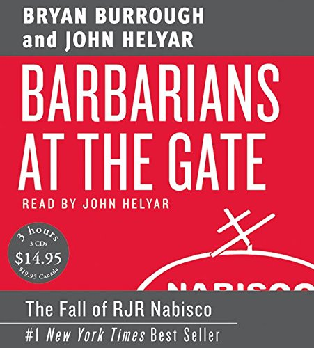 Barbarians at the Gate Low Price CD: Burrough, Bryan