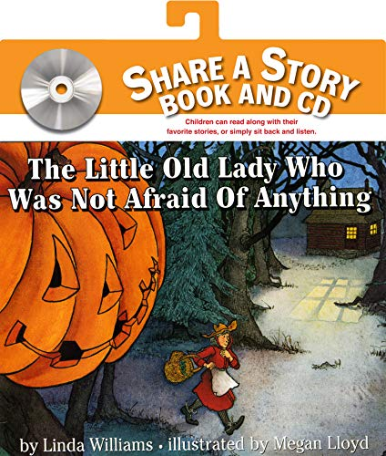 9780061232176: The Little Old Lady Who Was Not Afraid of Anything [With CD] (Share a Story)