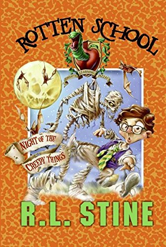 9780061232732: Night of the Creepy Things (Rotten School, No. 14)