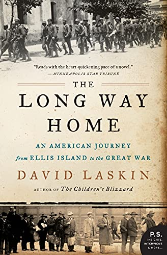 9780061233340: The Long Way Home: An American Journey from Ellis Island to the Great War