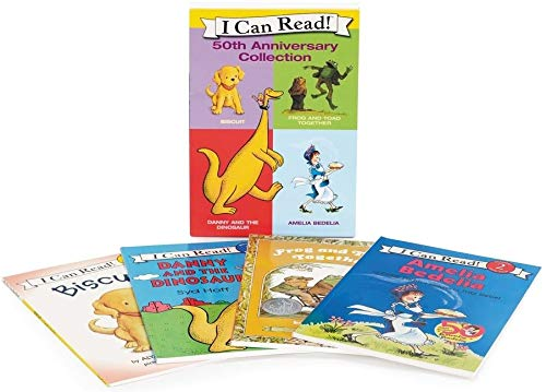 9780061234699: I Can Read 50th Anniversary Box Set (I Can Read Level 1)