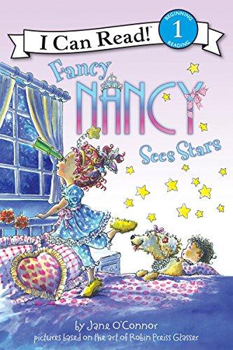 9780061236129: Fancy Nancy Sees Stars (I Can Read Level 1)