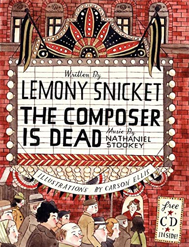 9780061236273: The Composer is Dead (Book & CD)