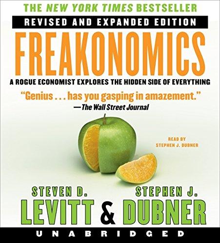 Freakonomics Rev Ed Unabridged CD: Levitt, Steven D.; Dubner, Stephen J.