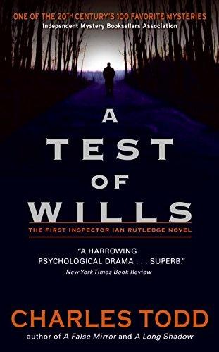 9780061242847: A Test of Wills (Inspector Ian Rutledge Mysteries)