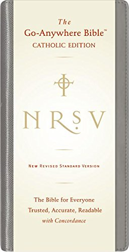 9780061244865: NRSV Go-Anywhere Bible CE (Black)
