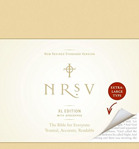 NRSV XL with Apocrypha (tan): Harper Bibles