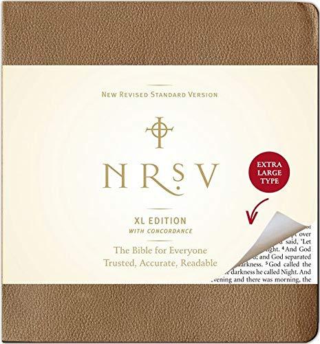 9780061244896: NRSV XL (brown)