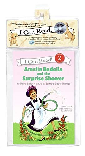 9780061247712: Amelia Bedelia and the Surprise Shower Book and CD (I Can Read Level 2)