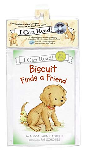 9780061247729: Biscuit Finds a Friend Book and CD (My First I Can Read)