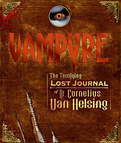 9780061247804: Vampyre: The Terrifying Lost Journal of Dr. Cornelius Van Helsing