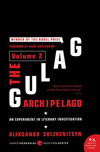9780061253720: The Gulag Archipelago, Volume 2: An Experiment in Literary Investigation, 1918-1956 (Perennial Classics)